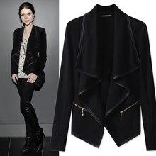 Ladies Blazers Autumn Work Wear Autumn Jacket Suit Women Slim Blazer Coat Zipper Fashion Casual Long Sleeve  Jacket  Suits