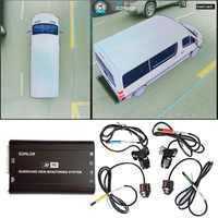 Vogel Ansicht kamera System für Sprinter/Pickup lkw/H3 große SUV HD 3D 360 Surround View System 1080P DVR G-Sensor