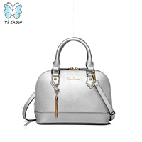Anna S Bag Split Leather Women Small Shoulder Bag Messenger Bags Casual Totes With Stylish Tassel