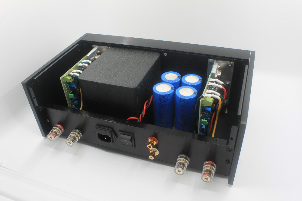 US $227 48 6% OFF|QUAD 405 finished amplifier chassis pure aluminum Amp  chassis-in Amplifier from Consumer Electronics on Aliexpress com | Alibaba