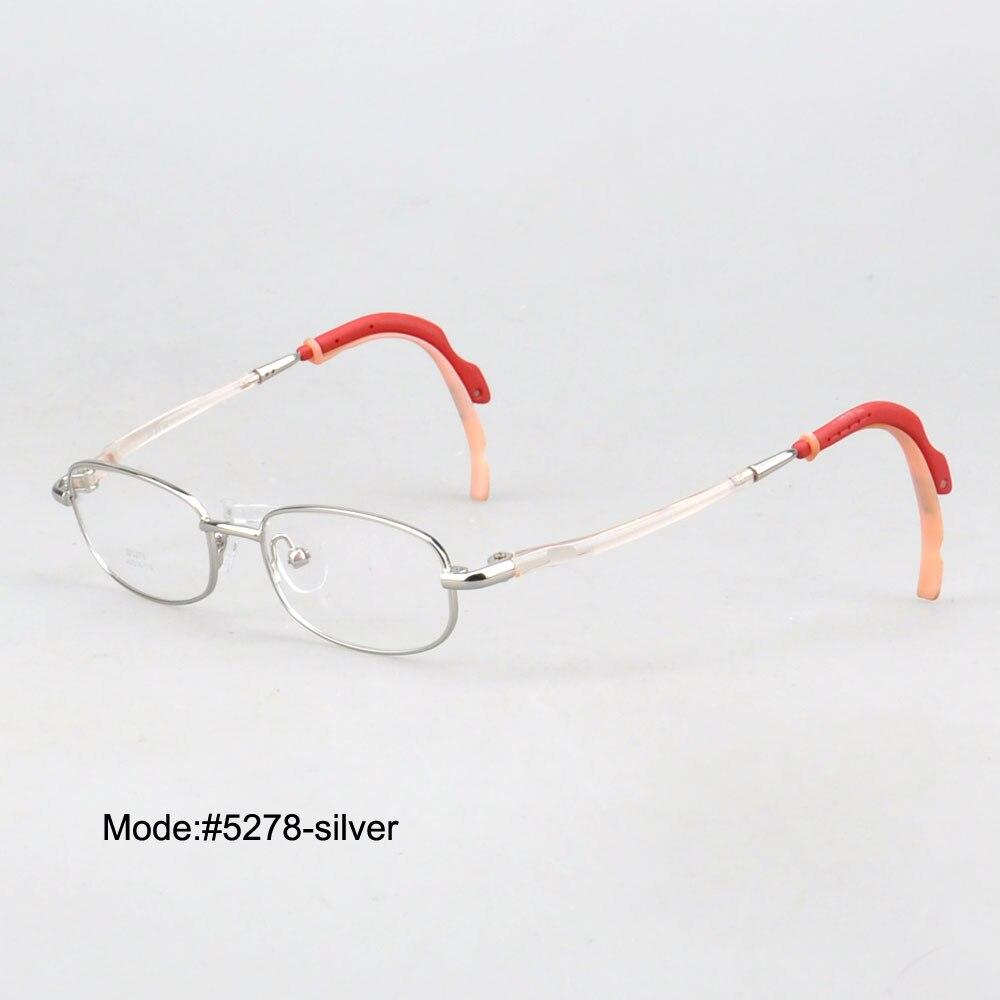 1c4385a130225d MON DOLI 5278 Enfant coloré avec caoutchouc de temples jante pleine lunettes  en métal optique cadre myopie lunettes lunettes