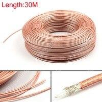 Areyourshop Продажа 3000 см RG179 радиочастотный коаксиальный кабель Разъем 75ohm M17/94 RG-179 коаксиальный косички 98ft plug