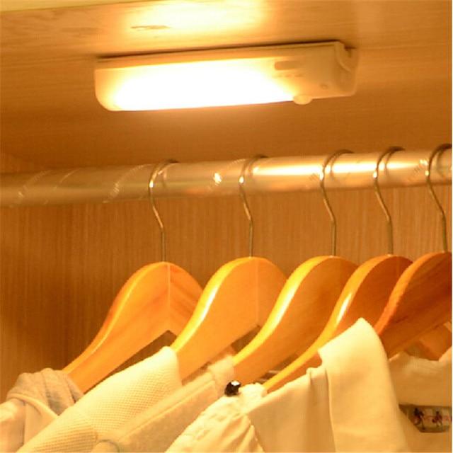 Digital 16.8CM USB Rechargeable LED Under Cabinet Light PIR Infrared Motion Sensor Lamp Kitchen Wardrobe Closet LED Light