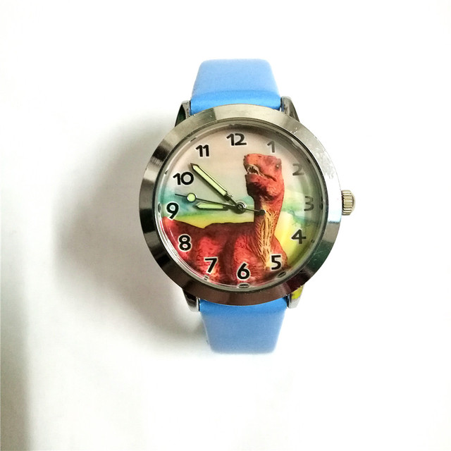 children Cartoon dinosaur pattern Beautiful watches boy gift dial students kids