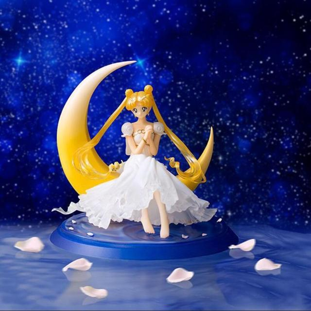 Сейлор Мун Фигурку 1/8 масштаб окрашенные рис Принцесса Серенити Doll ПВХ Фигурку Коллекционная Модель Игрушки 13 см KT3406