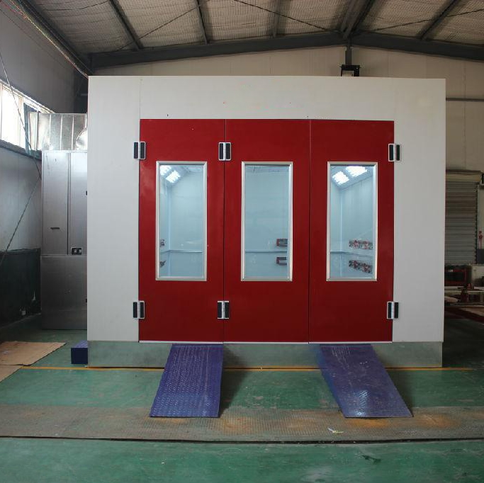 Electic Heating System Automobile Used Paint Spray Booths For Sale