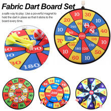 Kid Ball Target Game For Children Security Toy Sports Toys Fabric Dart Board Set newest units 1 set connect 4 in a line board game educational toys for children sports entertainment for nin