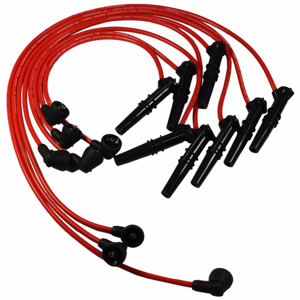 Plug-Wire-Set F250 Ford Lincoln Spark Mercury 1996-1999 Ford/Lincoln/Mercury/.. Way-8pcs