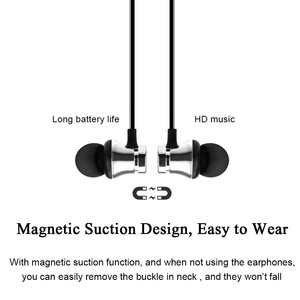 Image 3 - ROVTOP Magnetic Music Bluetooth Earphone XT11 Sport Running Wireless Bluetooth Headset With Mic For iPhone 8 X 7 Xiaomi Huawei