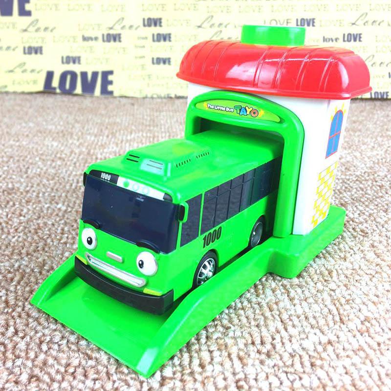 4 pz set bus tayo piccolo bus bambini in miniatura modello in Scala di plastica bambino - Film Kartun Anak Yang Mendidik Dan Aman Ditonton
