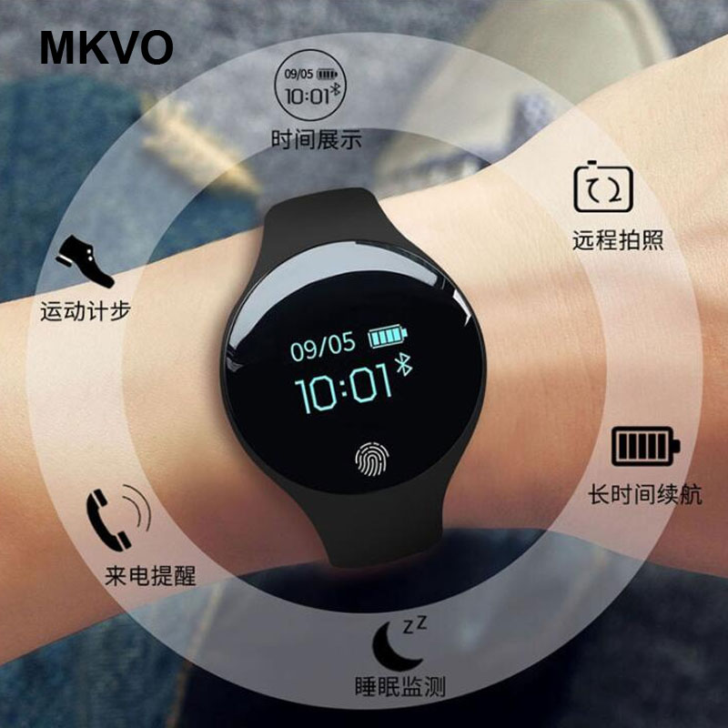 Smart Bracelet Watch Men's Women's Fashion Sports Steps Waterproof Couple Watch GPS touch screen sport Health Smart Watch(China)