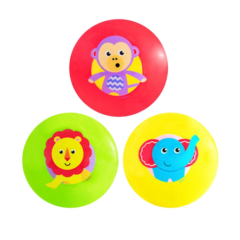 Baby Rattle Clapping Ball Toy Cute Animal Print Activity First Step Skills Training Interest Hands-on Development