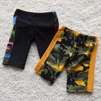 Popular Black Kids Swimming Trunks Quality Boys Teenagers Infant Swimwear Board Shorts Camouflage Children Beachwear 3-12Years