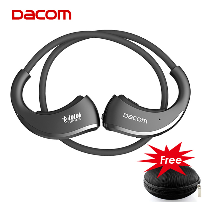 DACOM Armor G06 Bluetooth Headset IPX5 Waterproof Running Headphone Sports Earphone General Version for ios 7 and Android HD Mic ...