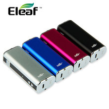 100% original 20 w eleaf istick e-cigarrillo de la batería 2200 mah de gran capacidad istick mod batería de voltaje ajustable con pantalla oled