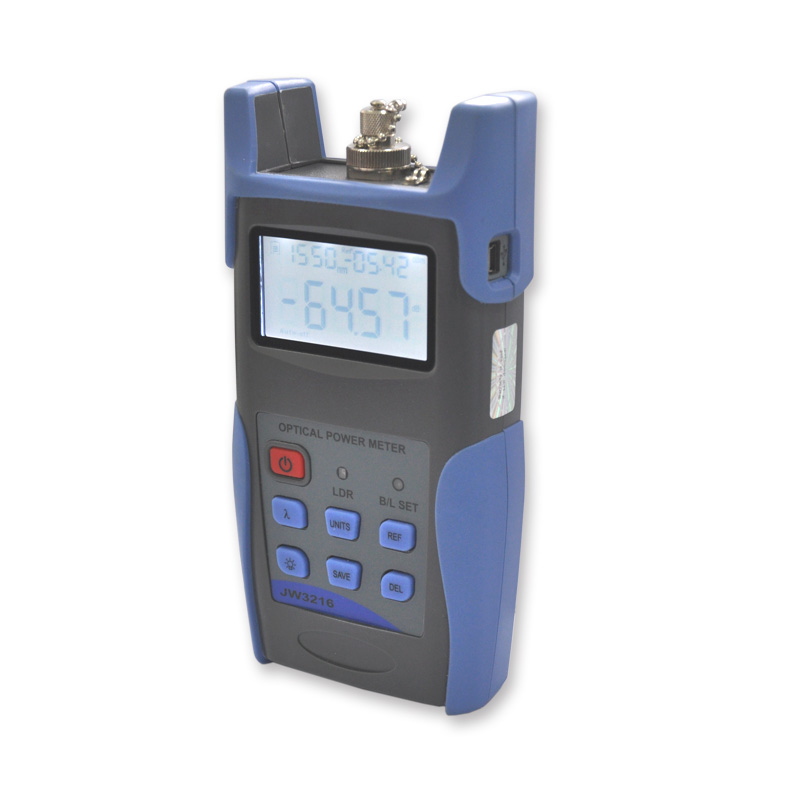 JW3216 Handheld Multifunction optical Power Meter USB communication function-in Fiber Optic Equipments from Cellphones & Telecommunications
