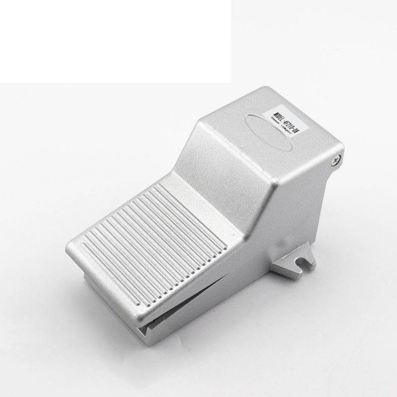 1pcs Foot Pedal Valve 1/4 Pneumatic Foot Valve 4F210-08 high quality pneumatic foot pedal valve 4f210 08