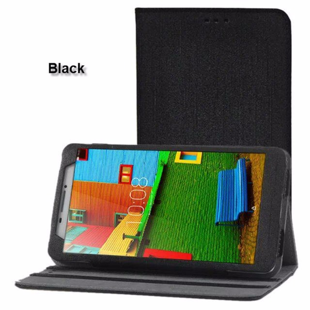 new style e8cc8 5b1cc US $8.49 |Luxury PU Leather Cover Flip Case for Lenovo PHAB PB1 750N PB1  750M PB1 750 Tablet 6.98 inch + Screen Protector Film tracking NO-in  Tablets ...