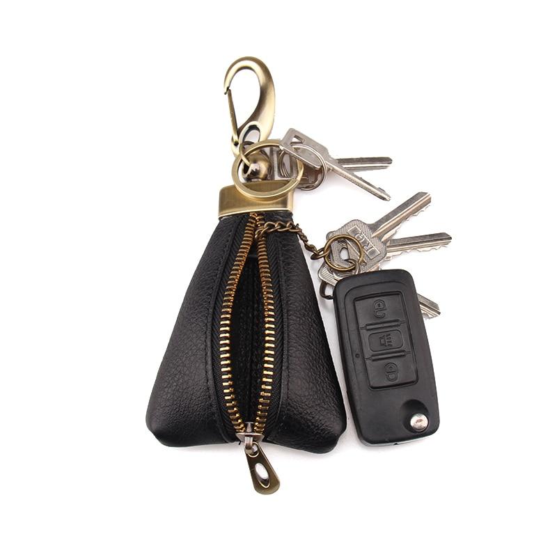 Aggressiv Damen & Herren Rindsleder Reißverschluss Münztüte Auto Key Wallets Fashion Multifunktions Haushälterin Key Halter kunden Verfügbar Wir Haben Lob Von Kunden Gewonnen