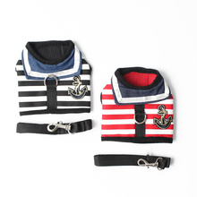 Navy-Style Adjustable Chihuahua Harness
