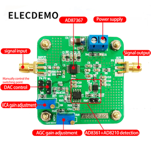 Image 3 - Блок усиления напряжения ad8367 _ agc, высокопроизводительный усилитель с переменным усилением, детектор широкой полосы пропускания