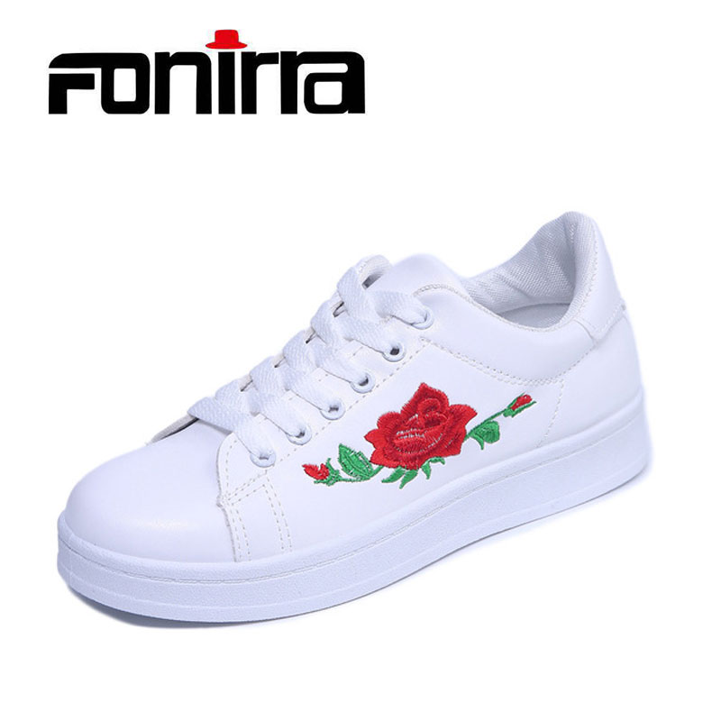Hook up floral shoes