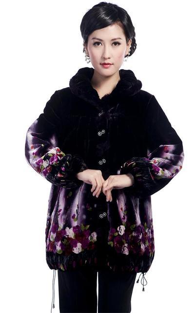 ГОРЯЧИЕ Моды ватные куртки Китайских женщин clothing Дамы зимняя Куртка Пальто Верхняя Одежда Костюм Размер Ml XL XXL XXXL T12908