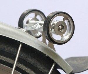Image 1 - Brompton Chắn Bùn Fender Mang eWheels Con Lăn Đôi