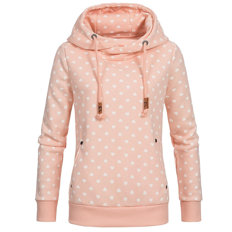 2020 Autumn Winter Women Plus Size 4XL 5XL Loose Hooded Print Casual Hoodie Sweatshirts Pockets Pullover Oversize Clothing Coats