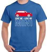 Love Me Il Mio Mini-T-Shirt Hommes CLUBMAN Roadster Cooper John Lavori di Disegno 1
