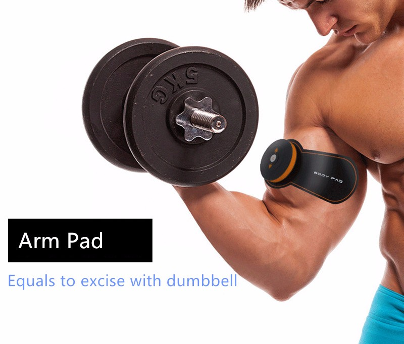Rechargeable Battery Gym Electronic Body Muscle Arm Waist Abdominal Exerciser Muscle Massaging Machine Viberating Slim Belt (1)__