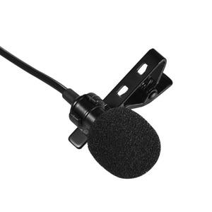 Image 5 - Andoer USB デュアルヘッドラベリアラペルマイクロホンクリップオン無指向性コンピュータ Windows Mac のビデオオーディオ録音用マイク
