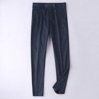 High Quliaty Mens Dress Pants 2018 New Solid Black Mans Formal Suit Trousers Business Office Trousers Men Size 30 38 40 42 5921
