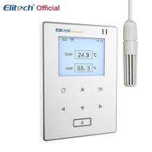 Цифровой ЖК дисплей Wi Fi термометр гигрометр электронный Температура измеритель влажности Метеостанция Крытый Открытый тестер
