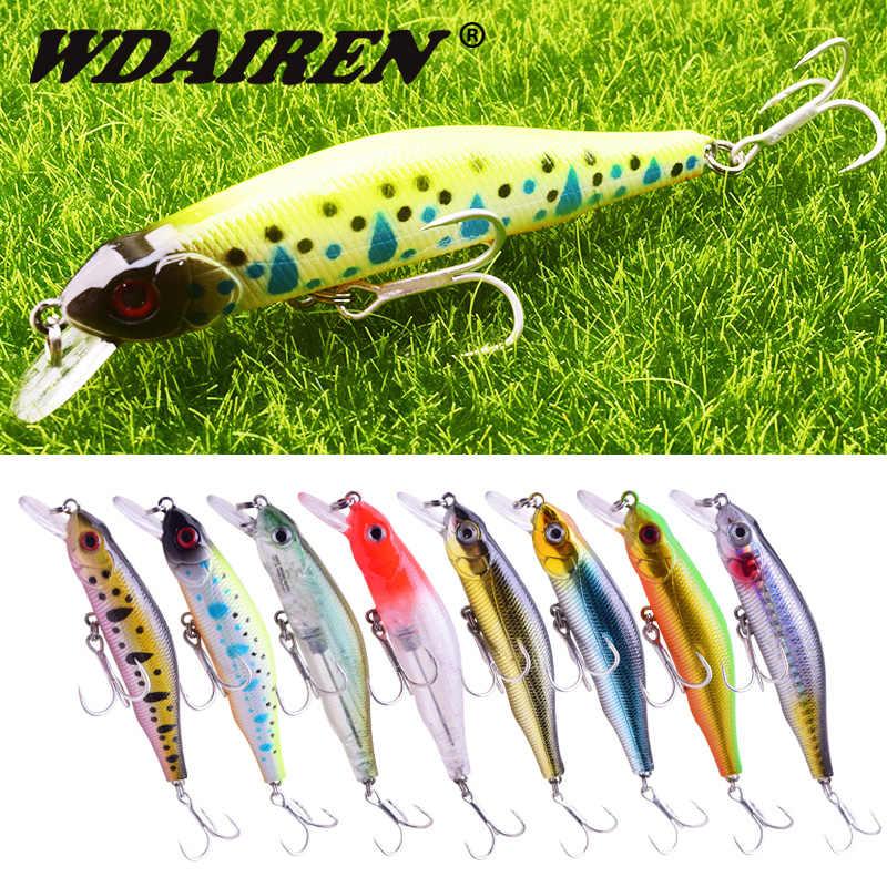 5PCS Lot 9cm//8.5g Minnow Fishing Bait Bass Crankbait Fish Lures Wobbler Tackle