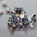 2017 baby set spring autumn new children's clothing cashmere warm children's shirt men girls thick coat wholesale colorful Y7