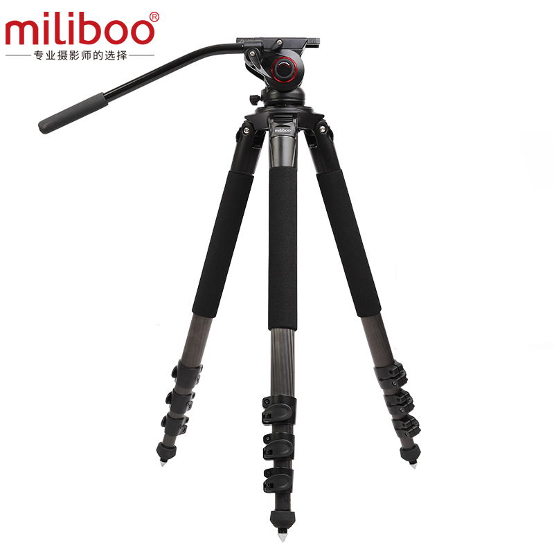 203cm Max Height miliboo MTT702B Tripod Professional 25KG Load bearing Aluminium Gorillapod holder Fluid head Dslr/Shooting Bird