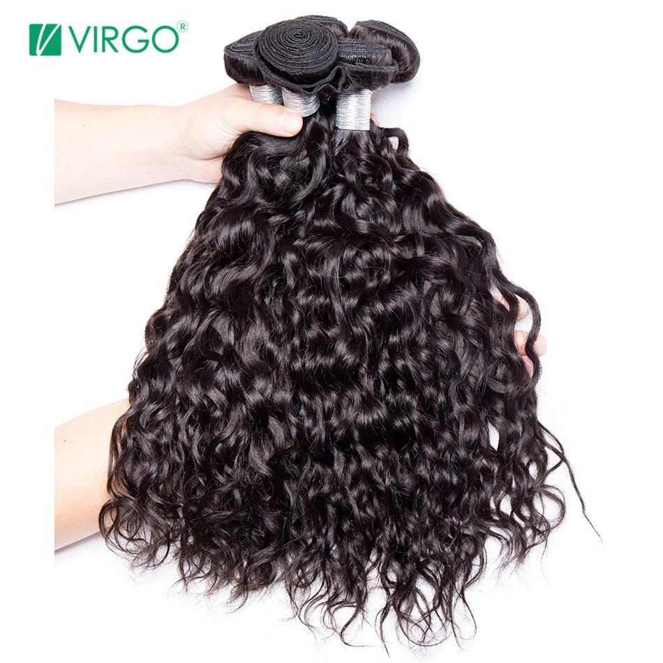 שיער טבעי Weave חבילות מלזי מים גל שיער חבילות 1/3 יחידות מזל בתולה שיער רמי שיער Weave יכול להיות צבוע לא לאבד דפוס