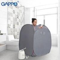 GAPPO портативный Паровая сауна Полезная кожа инфракрасная сауна потеря веса калорий домашняя ванна спа паровой генератор емкости 2л