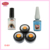 2017 de maquillaje kit determinado del cosmético del ojo de extensión de pestañas falsas individuales hechas a mano natural a largo pestañas mujeres beauty herramienta