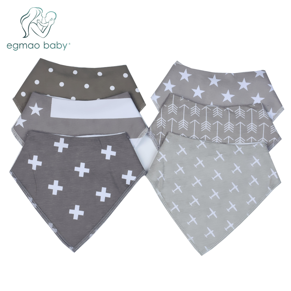 38 Styles Single Baby Bibs Boys Accessories Newborn Girls Burp Bandana Cotton Soft Toddler Triangle Scarf Infant Saliva Towel