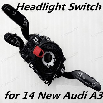 Polarlander переключатель сигнала поворота стебель рулевой колонки обработчик для 14 новых A/udi A3 переключатель фар 8VD953521AK 8VD953521AL