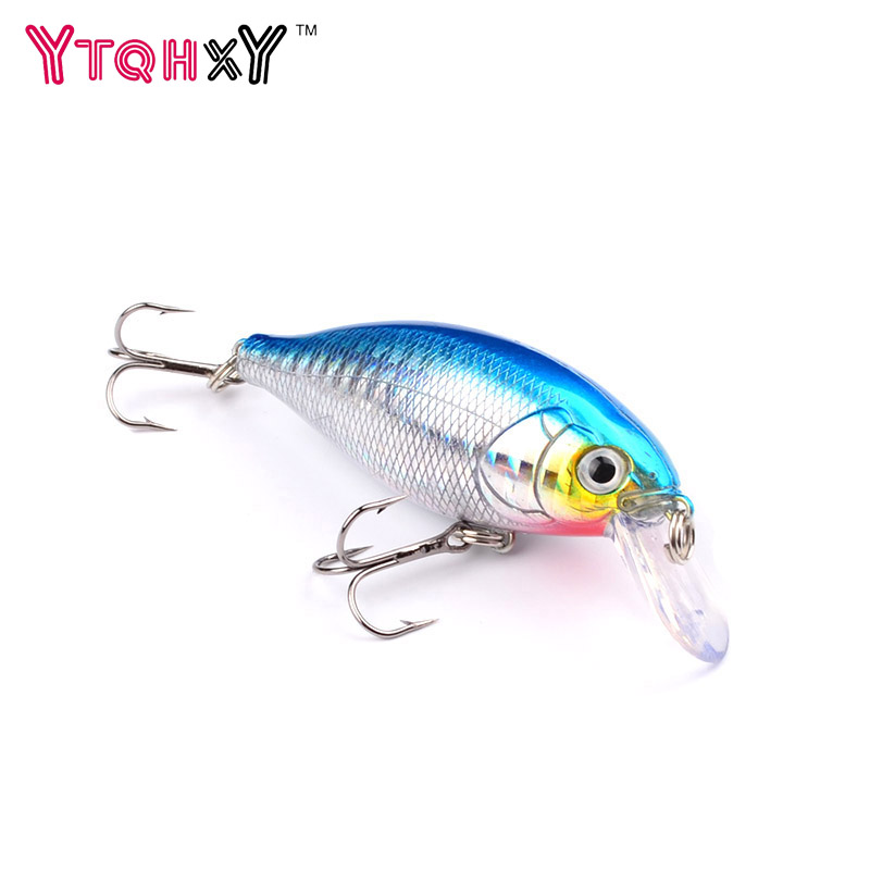 1Pcs Crank Fishing Lure Pesca isca artificia 7cm 13.1g Hard Bait Lures Flytende Wobbler Crankbaits Carp Fishing Tackle WQ8018