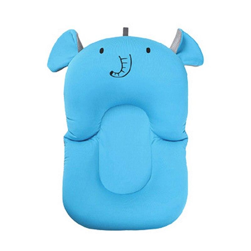 Портативная подушка для душа для младенцев, подушка для ванны для младенцев, нескользящий коврик для ванной для младенцев, безопасная подушка для ванной - Цвет: B4