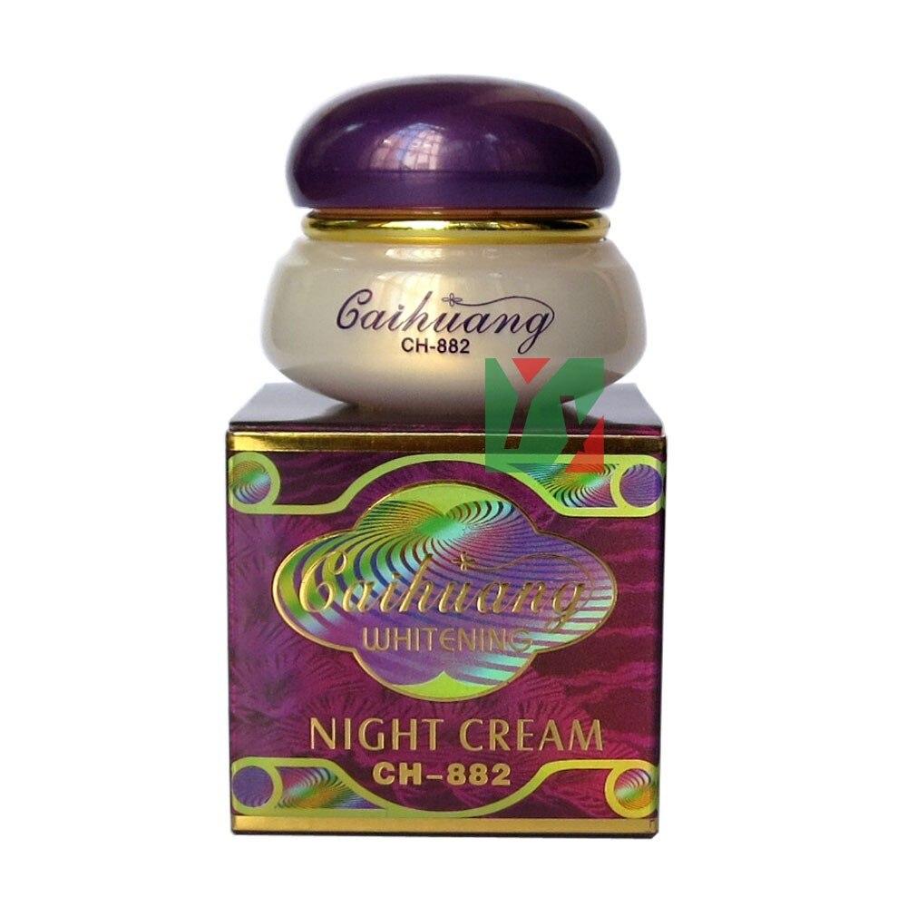 CAIHUANG blanchissant anti-taches nuit crème pour le visage enlever pigment 4pcs / lot