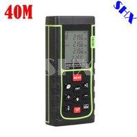Digital Laser Distance Meter Bigger Bubble Level Tool Rangefinder Range Finder Tape Measure 40m Area Volume