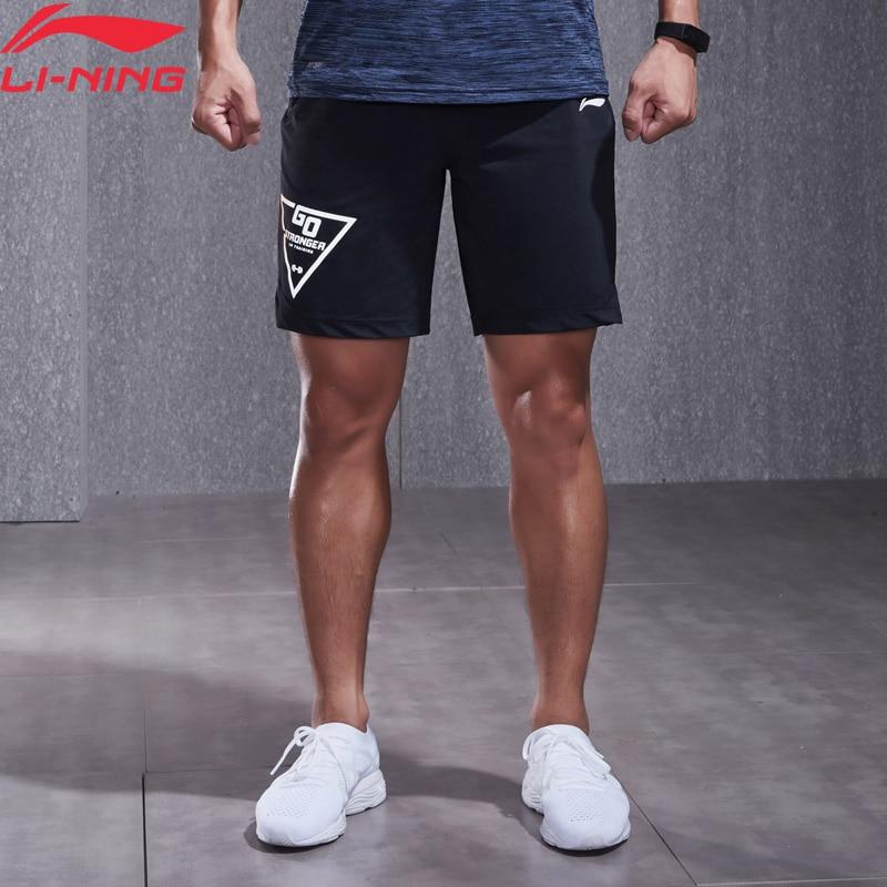 (Clearance)Li-Ning Men Training Series Shorts 79% Nylon 29% Spandex Breathable Comfort LiNing Sports Shorts AKYN013 MKD1542