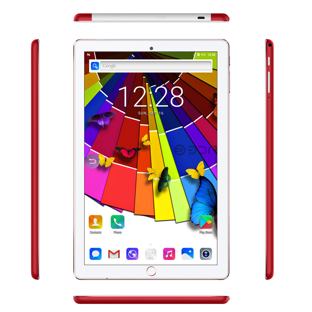 2019 New 10.1 Inch Tablet Pc Octa Core Android 7.0 Tablets 4GB 32GB WiFi GPS Bluetooth IPS Screen 10 Inch Tablet Phone Call