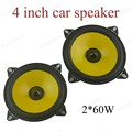 a pair 2x60W Full-range car audio stereo speaker PS401D  car speaker Automobile automotive 4 inch Loudspeakers