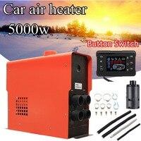 5KW 12V Integration 4 Holes Air Diesels Air Parking Heater Knob LCD Digital Switch